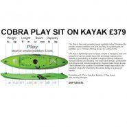 Cobra play kayak