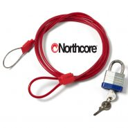 Northcore lockjaw surfboard lock