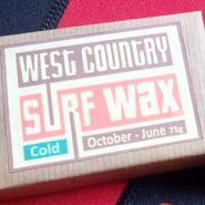 Handmade West Country surf board wax