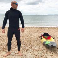 NCW 2.5mm super stretch neoprene sea strides / leggings