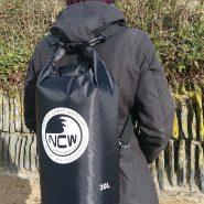 30L ripstop drybag in black