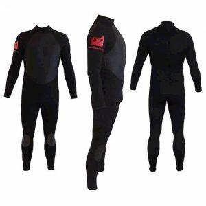 NCW 5/3 steamer wetsuit (back zip)