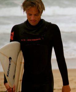 NCW gulf stream 3/2mm mini front zip wetsuit