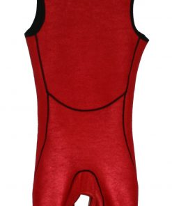 2mm thermal Short John wetsuit - interior