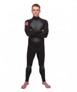 NCW gulf stream 4/3 backzip surf wetsuit