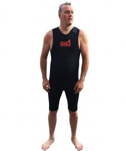 NCW 2mm thermal neoprene short john wetsuit