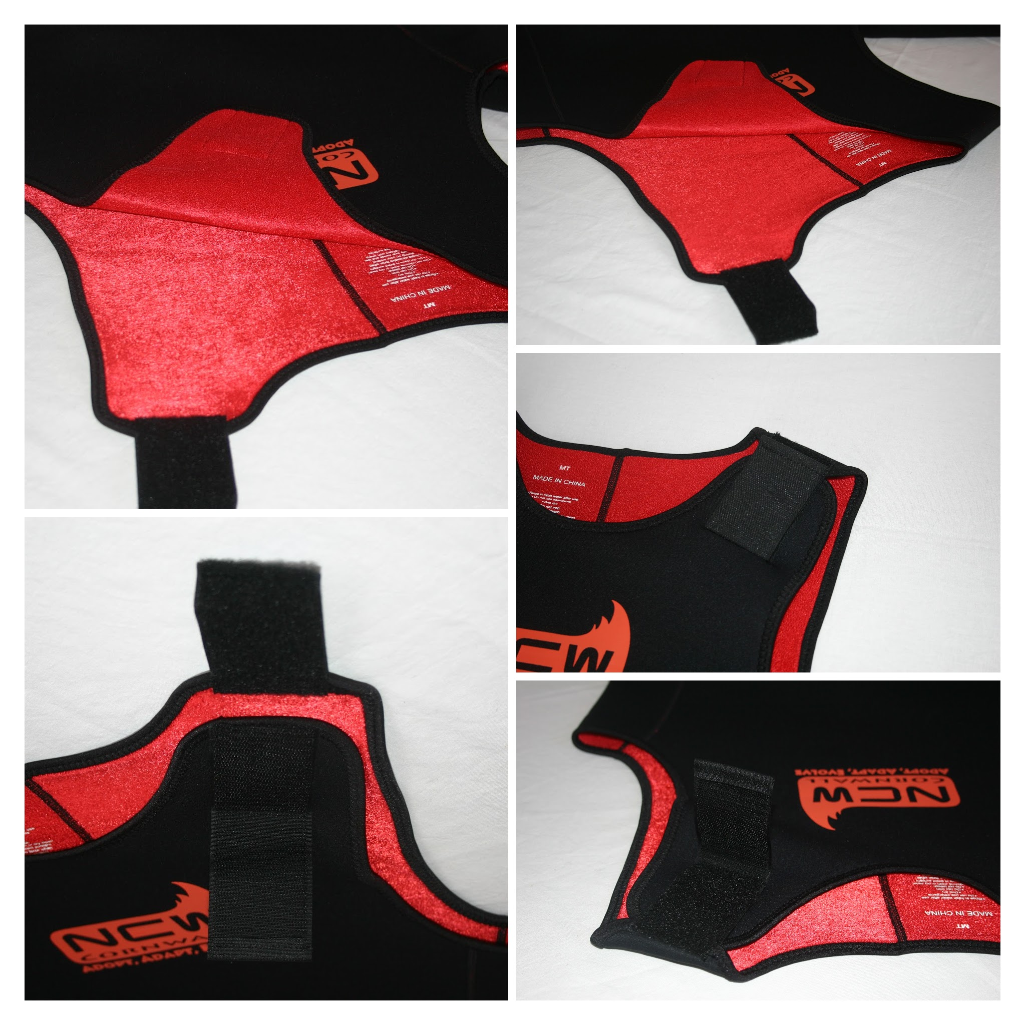 2mm thermal Short John wetsuit - closure