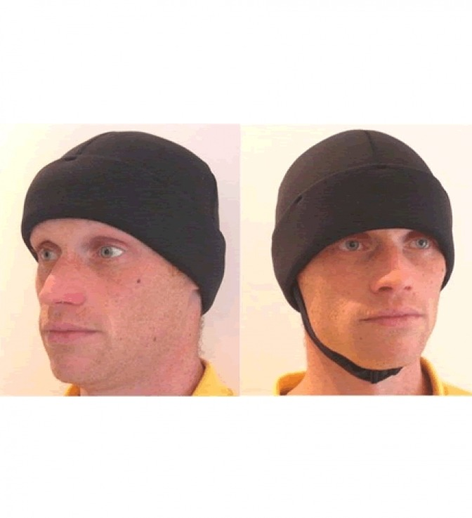 NCW 3mm beanie hat with chin strap