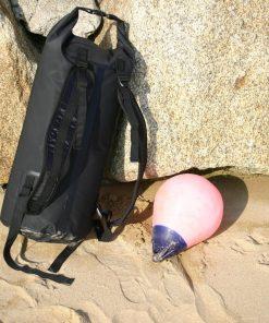 Drybag rucksack with padded straps