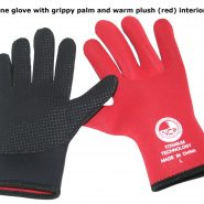 3mm titanium neoprene surf glove