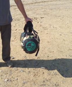 45L camo drybag base logo
