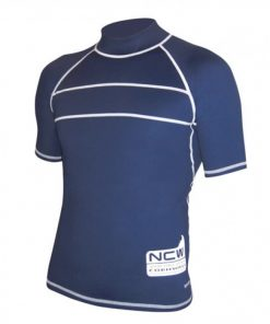 NCW uv50+ short sleeve rash vest - super stretchy with stong flatlock seams
