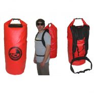 85 litre dry bag made with 500d PVC and with full rucksack strap system
