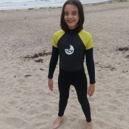 NCW kids 5mm full wetsuit with GBS seams front 2