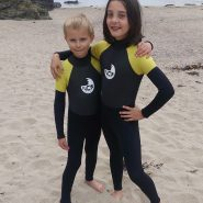 KIDS USED WETSUITS AND OTHER KIT (for sale in our showroom in Cornwall)