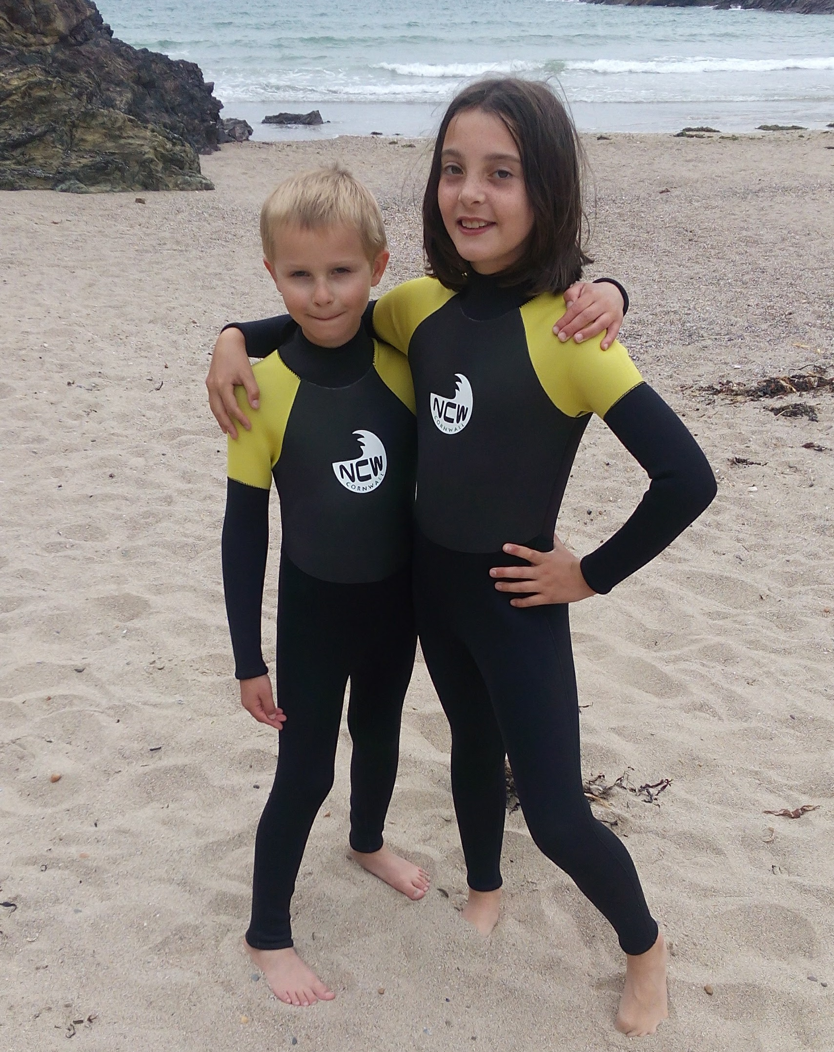 kids winter wetsuit. Full 5mm super stretch neoprene with GBS seams