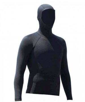 hooded long sleeve neoprene rash vest