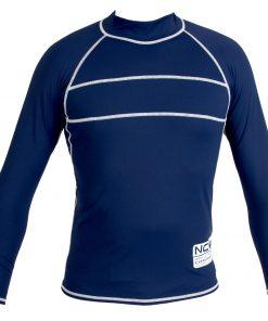NCW UV50+ rash vest long sleeve navy