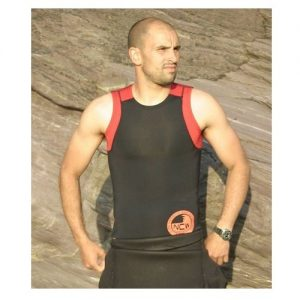 NCW 2mm super stretch neopreene sleeveless rash vest