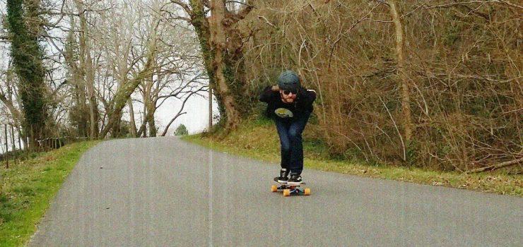 Daniel Taylor downhill skateboarding