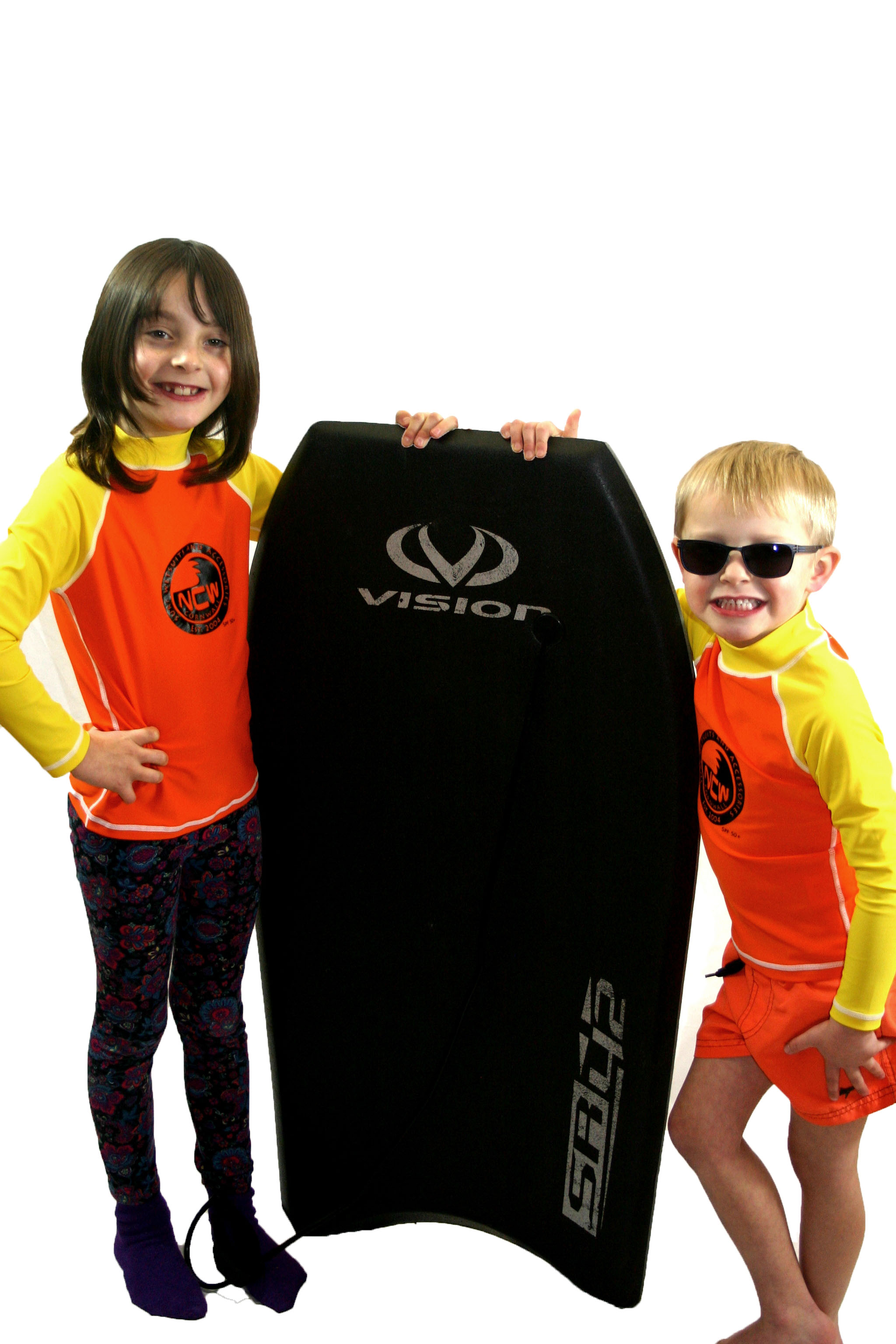 Childrens long sleeve SPF50+ rash vest