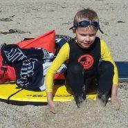 NCW 2mm kids thermal long john wetsuit