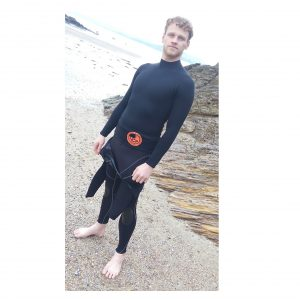 1.5mm neoprene thermal long sleeve rash vest