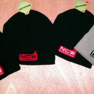 NCW cloth beanies - various colour and logos