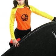 NCW kids and junior long sleeve uv50 rash vest