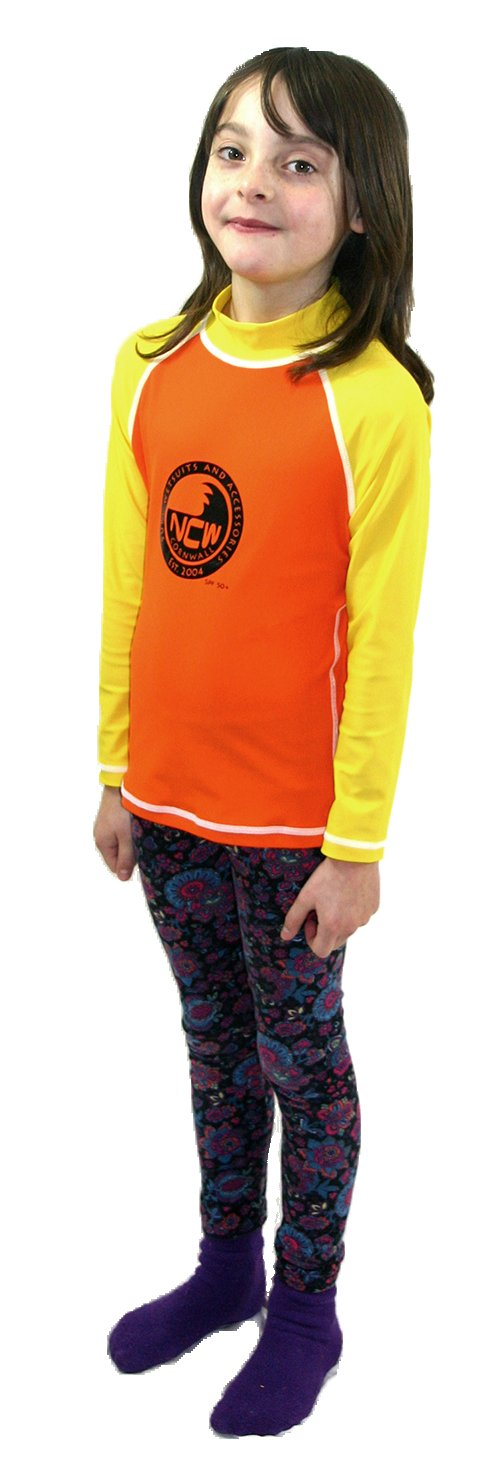 NCW kids and junior long sleeve uv50 rash vest