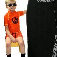 NCW kids short sleeve uv50 rash vest