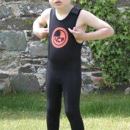 NCW 2mm thermal lined kids & junior long john wetsuit