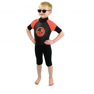 kids 3mm shorty wetsuit
