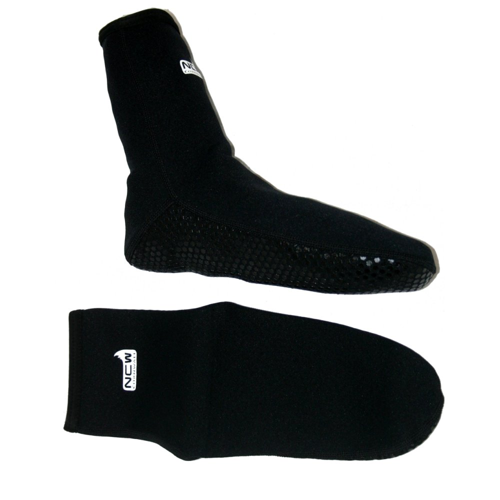 2mm neoprene socks with grippy soles