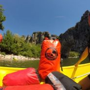 NCW Dry bags in kayak and rafting action