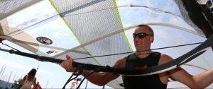 Mark Kay NCW rider - champion windsurfer