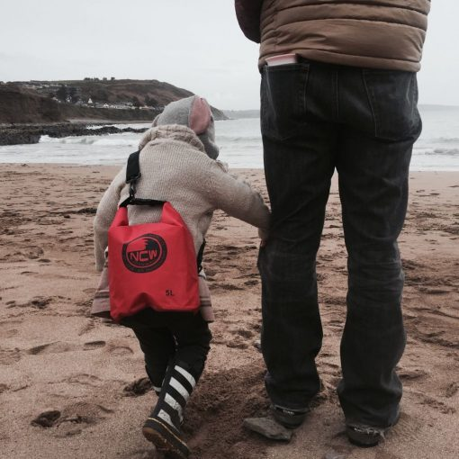 5L ripstop dry bag - Makes a great kids waterproof beach bag