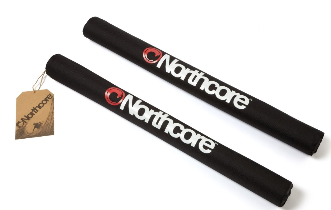 Northcore Roof Rack Bar Pads Wide Load double 72cm
