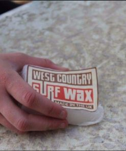 Handmade West Country surf board wax
