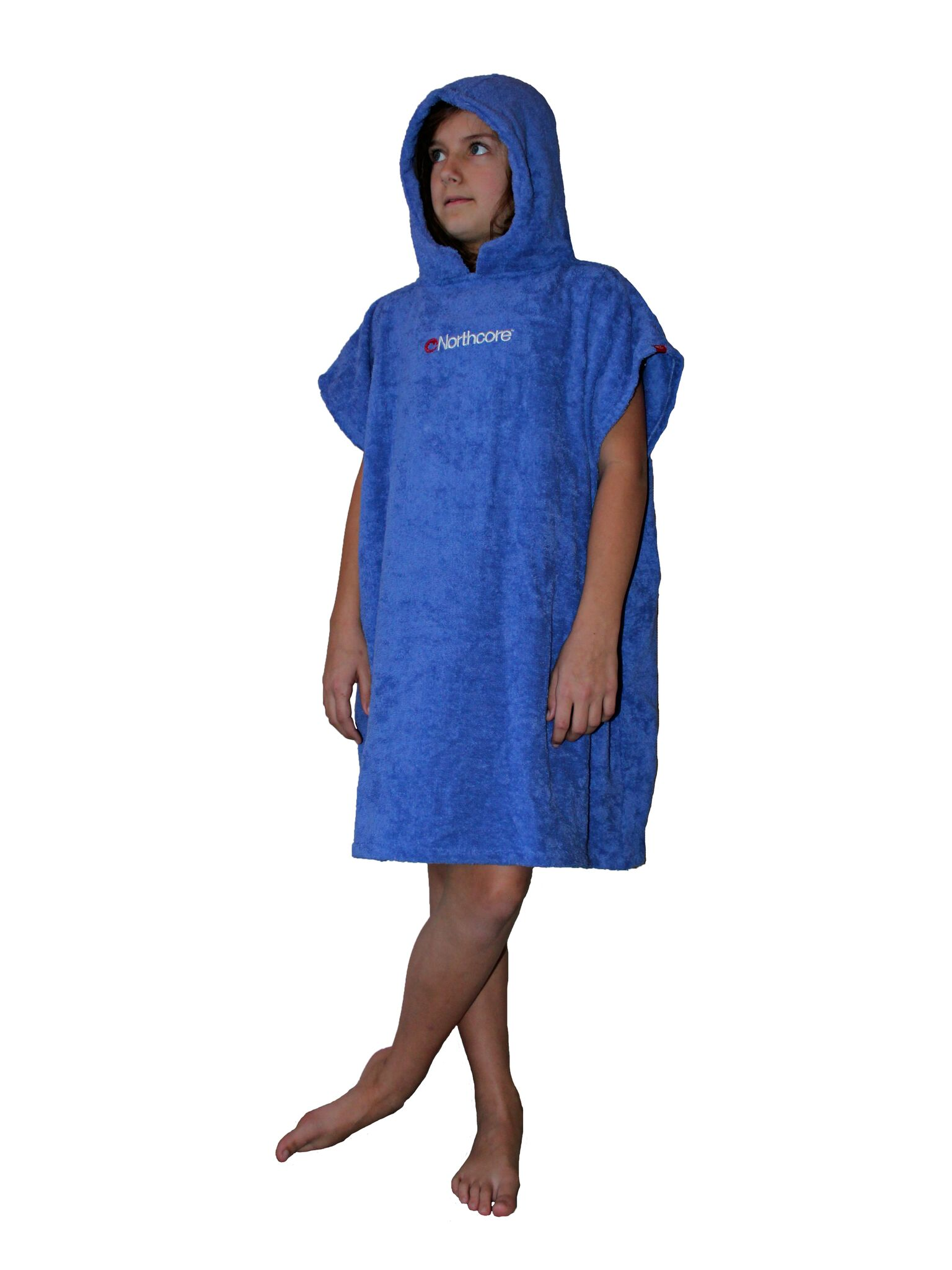 """Northcore """"Beach Basha"""" Changing Robe - Childrens ages 6 to 12"""
