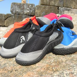 Kids beach shoes with grippy sole