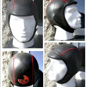 2.5mm smooth skin neopreene wetsuit cap / hood