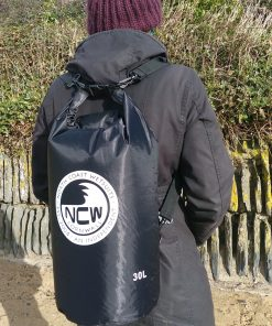 30L ripstop drybag in black