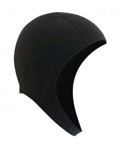 2mm finemesh neoprene open water swim cap - also great for triathlon, OCR and surf livesave