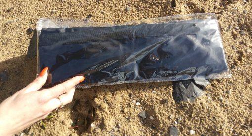 20L ripstop drybag in black