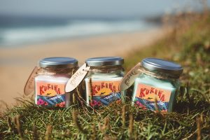 kukena candles handmade in Cornwall
