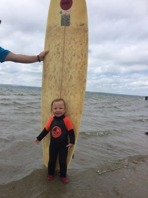 Get on board with our kids 3mm full wetsuits