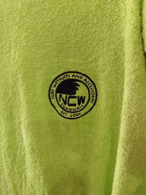 ncw beach towelling changing robe