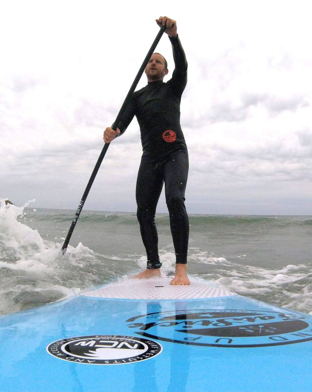 dave ludgate NCW sup rider