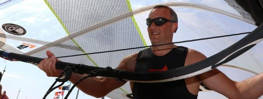 mark kay NCW team windsurfer